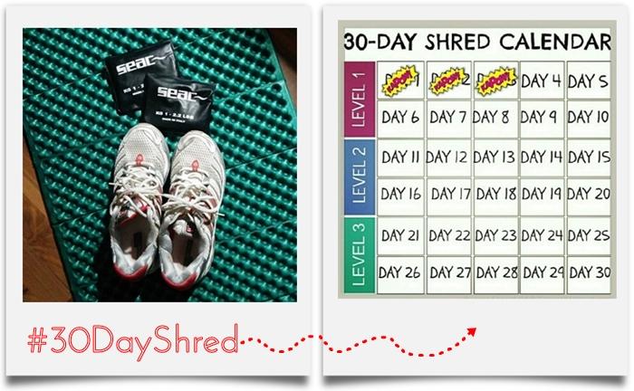 #30dayshred