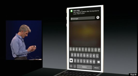 iOS 8 TEXTING 1