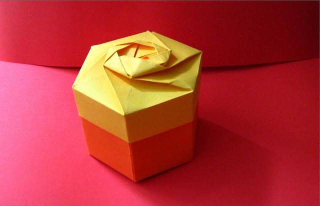 gift box orange