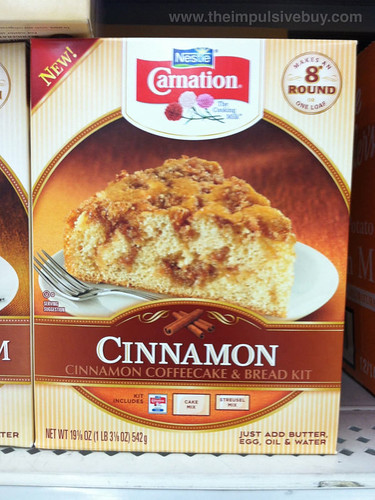 Nestle Carnation Cinnamon Coffeecake & Bread Kit
