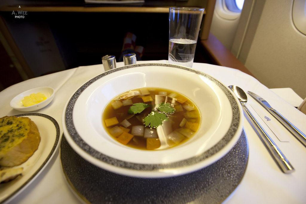 Chicken Consomme with Vegetables