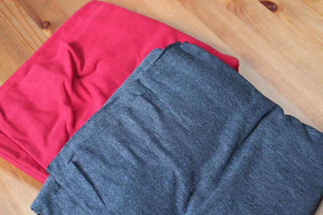 Red and Gray Jersey Blends