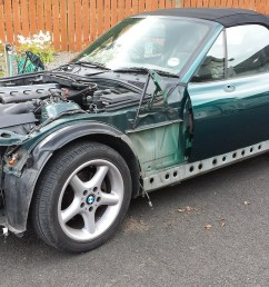 28th june 2014 old bmw panels removed [ 1600 x 900 Pixel ]