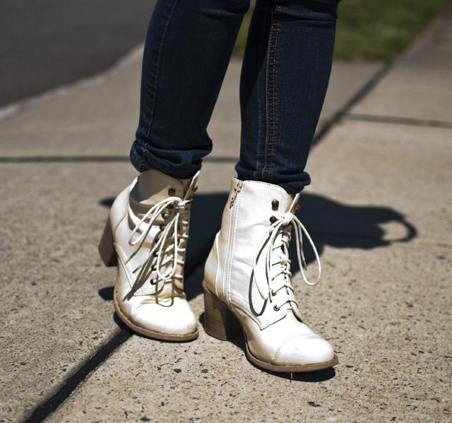lace up boots, sand color, hautelook