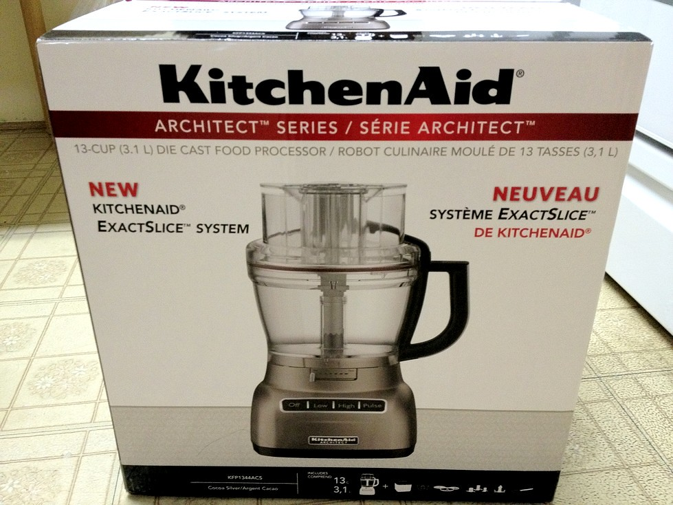 kitchenaid - food processor no logo