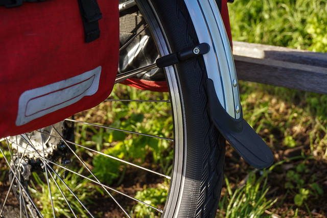 Ridgeback Expedition: mudguard rear