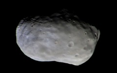 ExoMars first colour image of Phobos