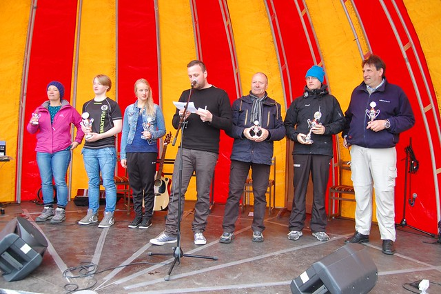 Cup winners at Skálafjarðarsvimjingin 2013