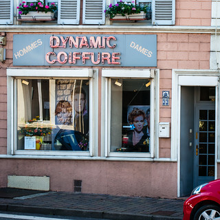Dynamic Coiffure in Stenay, France.