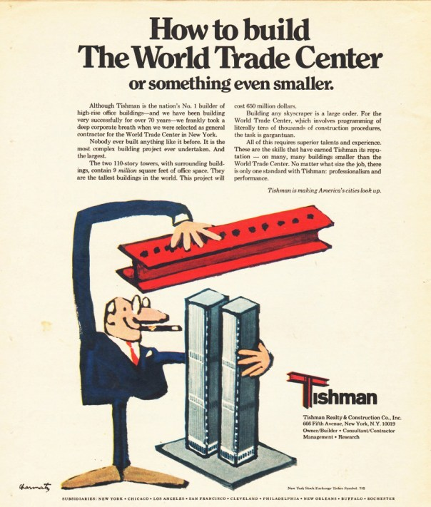 Tishman Realty and Construction - 1971