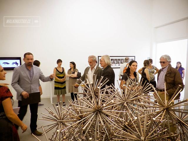 Inauguración Expo Arte Joven en @Museo_MAC de #QuintaNormal - @balm_artejoven U. Mayor en Av. Matucana #464