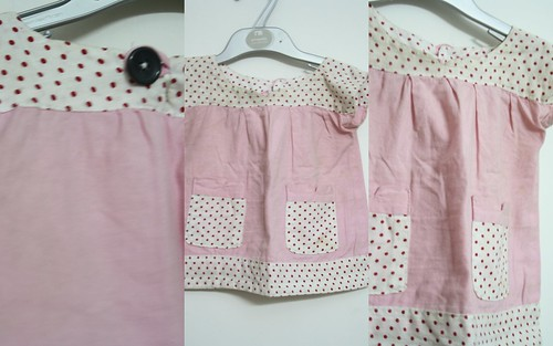 SEW - Pink&Polka IceCream Dress - Details