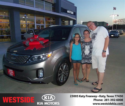 Westside KIA Houston Texas Customer Reviews and Testimonials - Bruce Johnson by Westside KIA