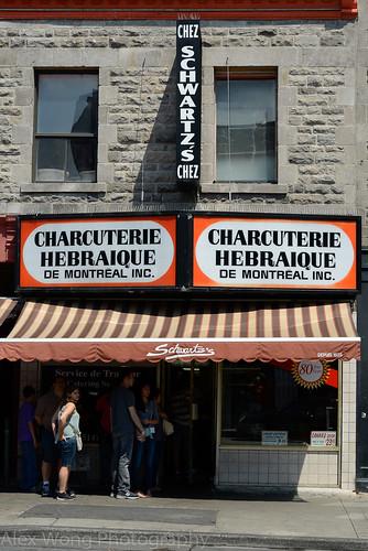 Schwartz's Deli, Montreal