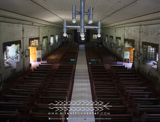 Interior of Barcelona Church Sorsogon
