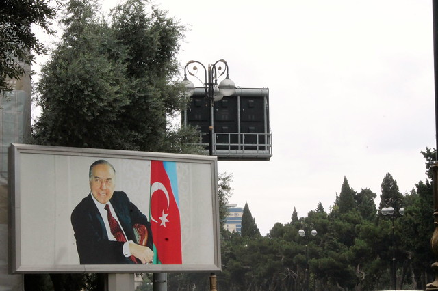 Aliyev billboard