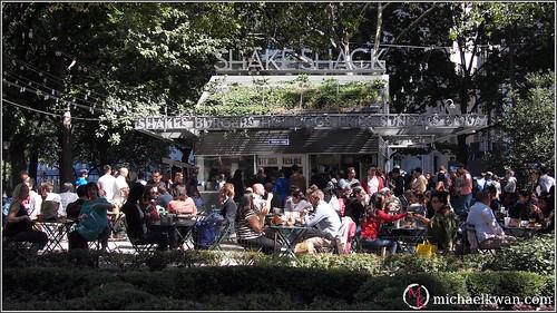 Shake Shack, Madison Square Park, New York City
