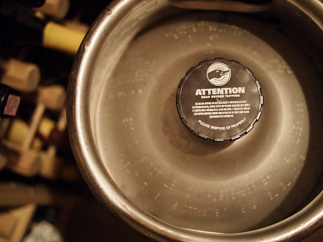 Keg of bourbon county coffee stout