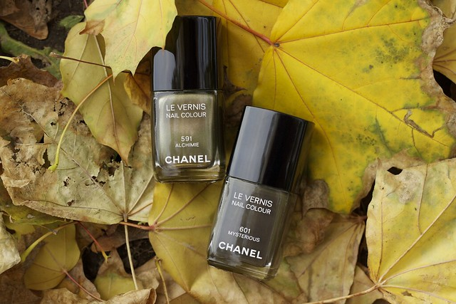 10 Chanel Alchimie + Mysterious swatches