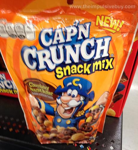 Cap'n Crunch Chocolatey Peanut Butter Snack Mix
