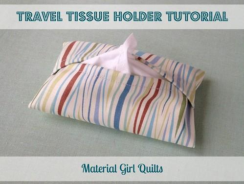 Travel Tissue Holder Tutorial