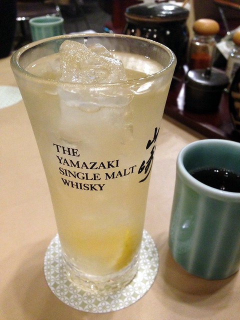 Hibiki Highball at Maisen Tokyo