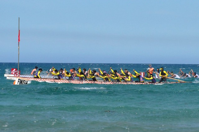 Sun Soaked Dragon Boat Race