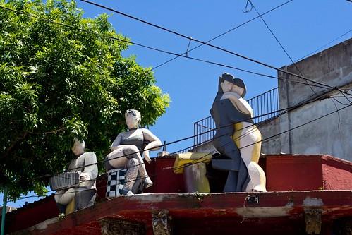 Escultura Tango