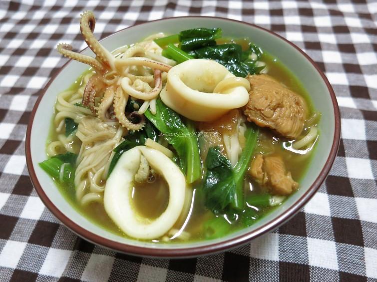 咖哩海鮮湯麵