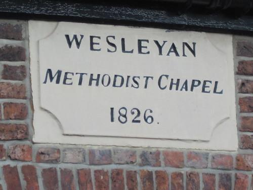 Newby Wesleyan Methodist Chapel 1826