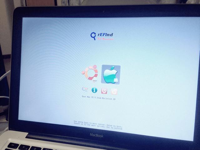 MacBook上安裝UbuntuOS雙系統開機 - iPsNote