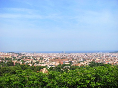 Pyrenees, Barcelona Skyline