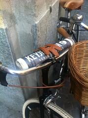 Vélo Casale Monferrato - Fixation journal