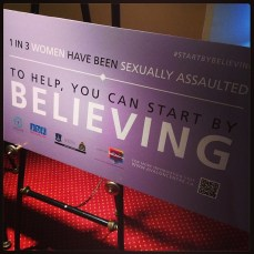#startbybelieving with Avalon Sexual Assault Centre.