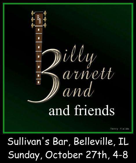 Billy Barnett and friends 10-27-13