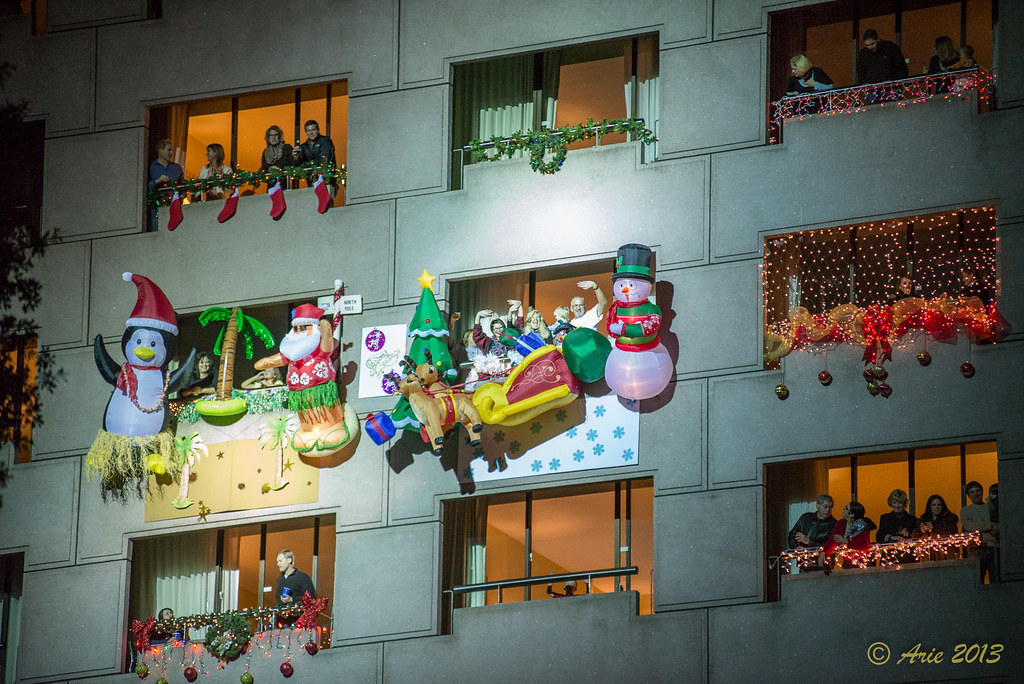 Uptown Houston Holiday Lighting 2013