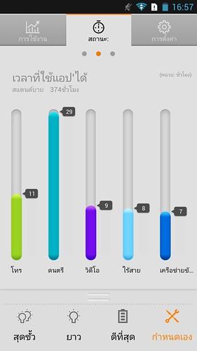 App ชื่อ LenovoPower (ชื่อไทย การประหยัดพลังงาน) ช่วยคาดเดาระยะเวลาในการใช้งานที่เหลือได้