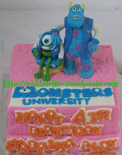Cake Monster University