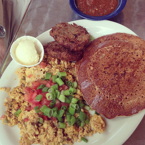 vegan breakfast platter