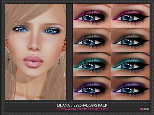 Juliana Eye Shadows