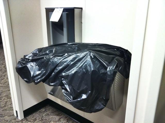 Sinks!  In!  Bags!