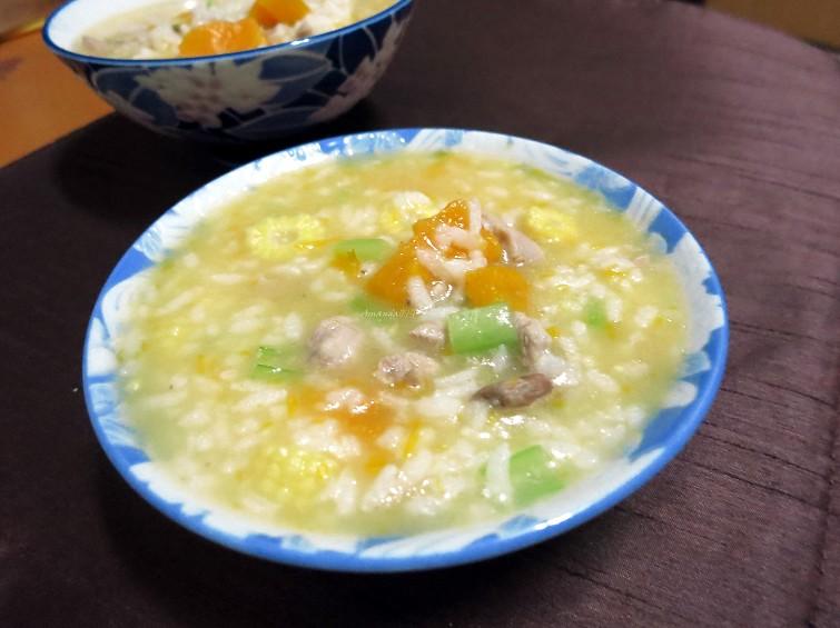 雞湯南瓜粥 (2)