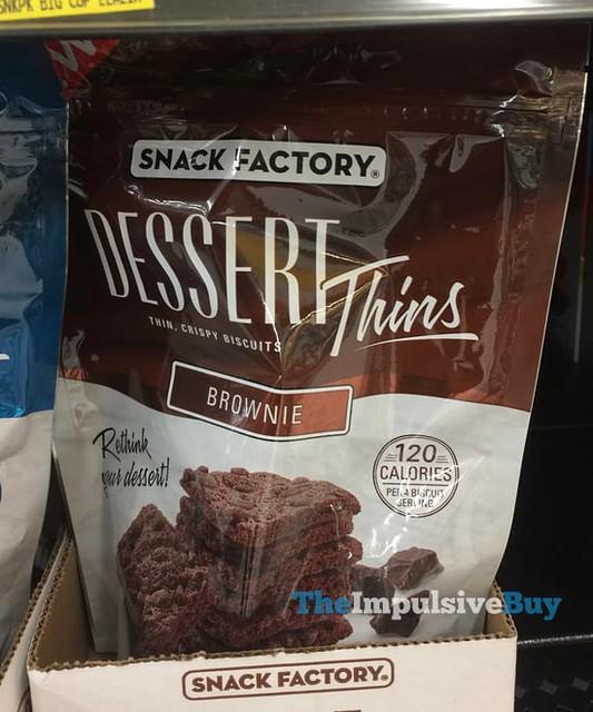 Snack Factory Brownie Dessert Thins