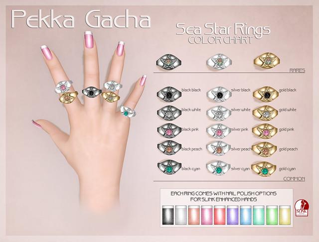 Pekka SeaStar Rings gacha