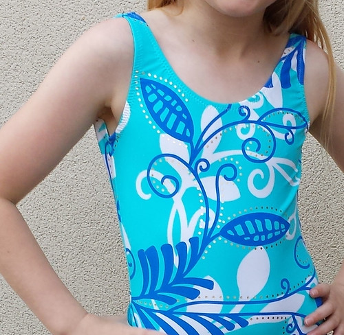vintage Kwik Sew bathers pattern