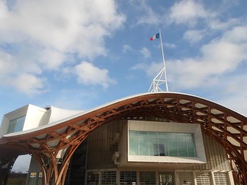 Exterior, Pompidou