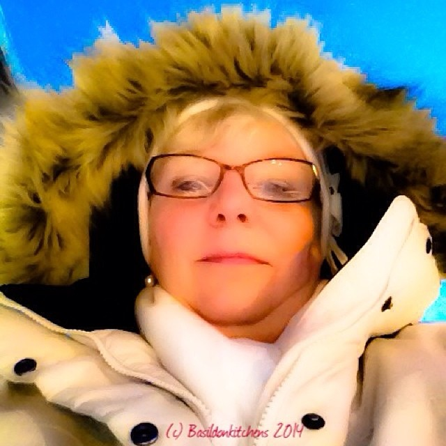 3/1/2014 - selfie {again?!?! This is me bundled up at the post office this morning. -24C Brrrr} #photoaday #selfie #winter #cold