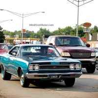 Woodward Dream Cruise: 1968 Plymouth GTX