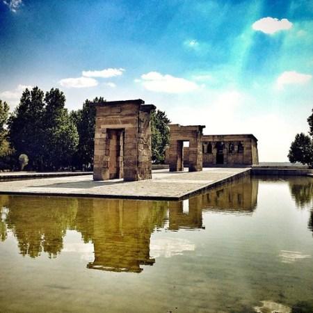 Tempio di Debod Madrid