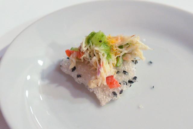 Phorage dungeness crab salad